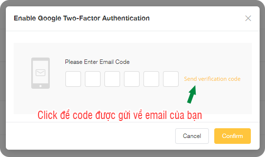 kích hoạt code authen